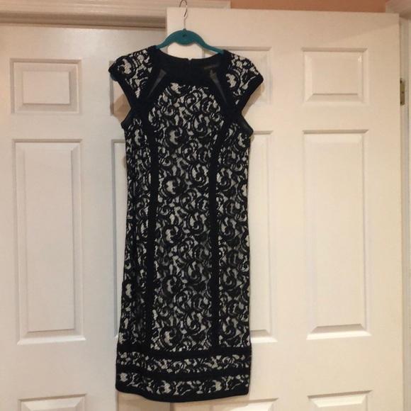Tadashi Shoji Dresses & Skirts - Tadashi Shoji Black & White lace dress